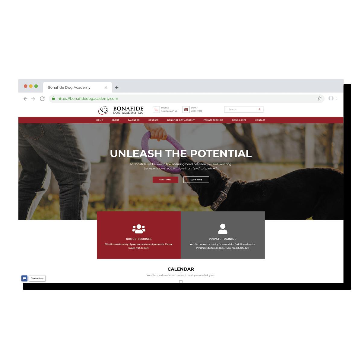 Bonafide Academy Website