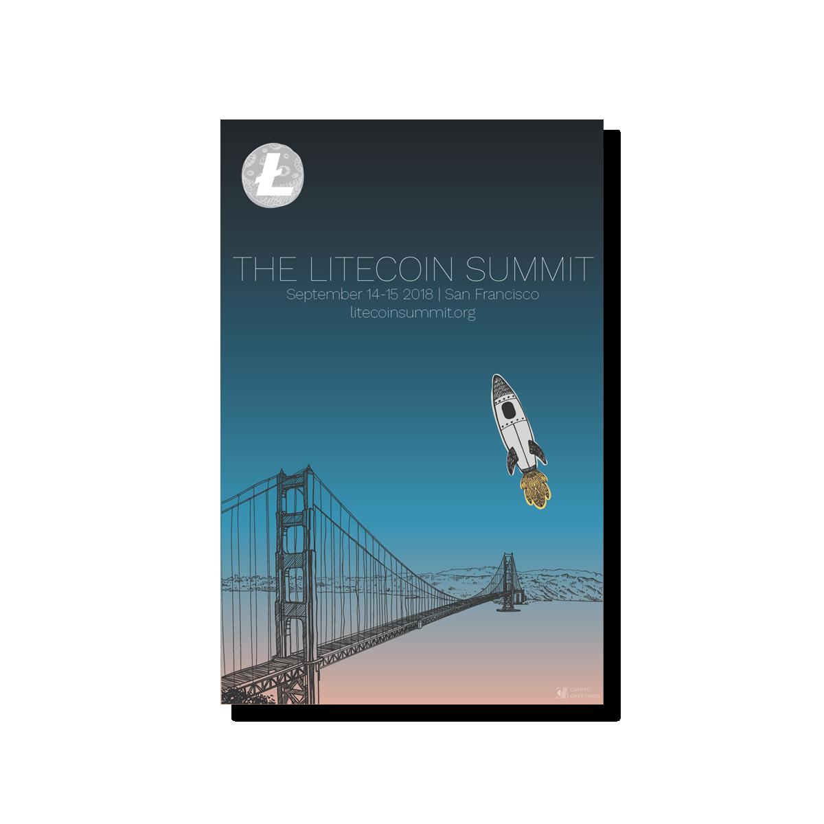 Litecoin Summit Promo